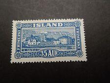 N78 STAMPS ICELAND 1925  MI  117  MINT  NO GUM  CAT. VAL. EURO 200,00