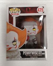It (2017) Pennywise with Balloon US Exclusive Pop! Vinyl Figure NEW IN BOX Funko