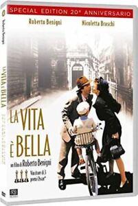 Dvd La Vita è Bella (1997) - 20° Anniversario *** Roberto Benigni *** ....NUOVO