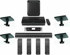 Bose Lifestyle 650 Home Entertainment System with Ceiling Brackets New Black