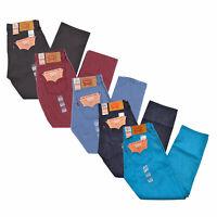 Levis 501 Mens Jeans Shrink To Fit Casual Denim Trouers Original 32 34 36 38 40