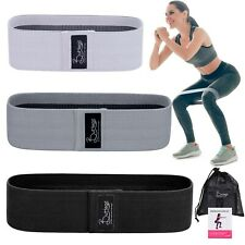 Fabric Resistance Bands Non-Slip,Thick&Wide Hip Booty Workout Exercise Bands USA