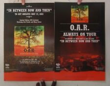 O.A.R. Oar Poster In Between Now And Then Always Tour 2003 Of A Revolution
