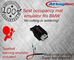 Passenger Seat Occupancy Mat BMW Airbag Sensor Emulator Belt Simulator Bypass UK