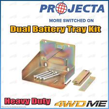 Mazda BT50 Heavy Duty PROJECTA Dual Battery Tray Auxiliary Complete Kit