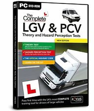 The Complete LGV & PCV Theory & Hazard Perception Tests | PC DVD CD | Latest
