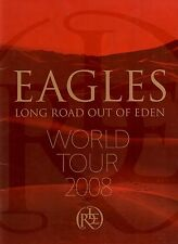 Eagles 2008 Long Road Out Of Eden Tour Concert Program Book Booklet / Ex 2 Nmt