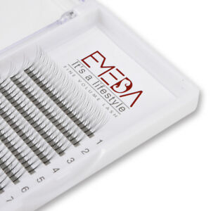 New Style 3D Volume Lash Extensions Fans Stick In The Root Cluster False Eyelash