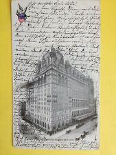 CPA Old Postcard de 1898 USA NEW YORK WALDORF ASTORIA