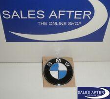 Original BMW Emblem Plakette Heckklappe 3er E46 Cabrio Kofferraum 61mm