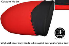 RED & BLACK VINYL CUSTOM FITS MV AGUSTA F4 750 1000 99-09 REAR SEAT COVER ONLY