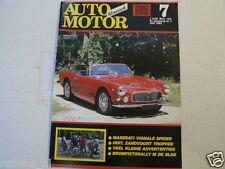 AMK 1992-07 MASERATI 3500 GT VIGNALE SPIDER,BROMFIETS RALLY DE SLAK,PIP HARRIS