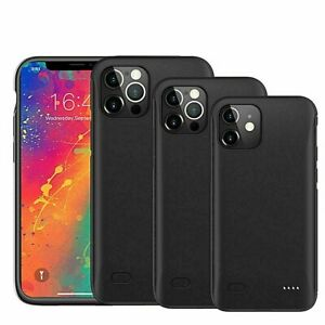 New Battery Case External Charger Power Pack for iPhone X Xs XR 11 12 12-Pro