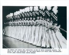 1993 Press Photo Radio City Rockettes Dance of Toy Soldiers