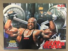 RONNIE COLEMAN / BETH HORN Bodybuilding Muscle Fitness Poster