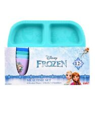 Disney Frozen 12pc Dinnerware Set Plates Bowls & Cups **NEW**