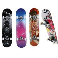 Skateboard Deck Komplettboard Funboard Holzboard 79x20cm Ahornholz 4 Motive DHL