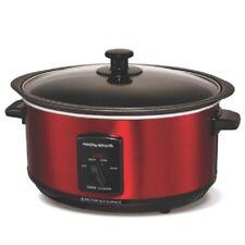 Morphy Richards 48702 Sear & Stew Slow Cooker, Schongarer, rot, 3,5l Neu