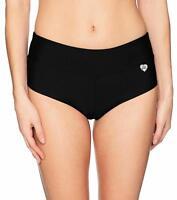 Body Glove Women's Smoothies Sweety Solid Cheeky Bikini Bottom Swimsuit - Medium