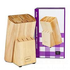 Gero Messerblock Prestige ohne Messer Holz Block Messerset Kochen