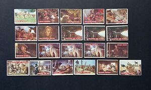 1956 Topps 20 Green 1 Orange Back Disney Original Davy Crockett Cards