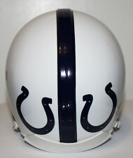 1956 Baltimore Colts Custom Throwback Riddell Mini Helmet - Single Bar