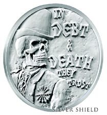 2017 Debt And Death Half-Proof - Silver Shield - #2 of Death of Dollar Series