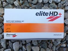 elite HD+ Putty Soft Normal Set 500ml (Zhermack)  #C203000 Exp: 2020-06
