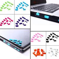 13pcs Anti-Dust Plug VGA USB HDMI AUDIO Port Stopper Protector For Laptops PC