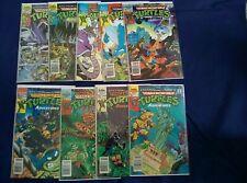 Lot of 9 Teenage Mutant Ninja Turtles Adventures 1989 ARCHIES #1 2 4 5 - 20