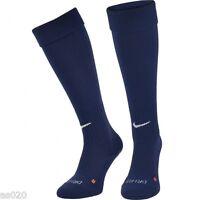 NEW Nike Classic II Mens Adults Dri-FIT Football Soccer Sports Socks - Navy Blue
