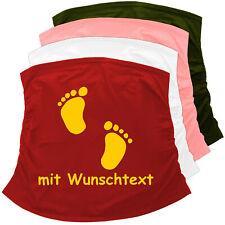 BAUCHBAND Bauchtuch Bauchbinde + Babyaufkleber-Motiv