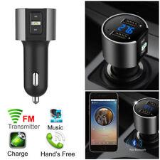 Bluetooth Sans Fil Radio Transmetteur FM Lecteur MP3 USB Chargeur Voiture