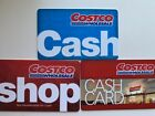 Costco Wholesale Cash Gift Card 3pieses /set For Sale