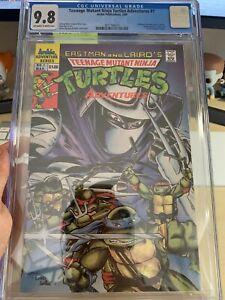 Teenage Mutant Ninja Turtles Adventures 1 CGC 9.8 Regular Archie series (KEY)