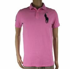 Ralph Lauren Taglia L Maglietta Maglia Camicetta Polo T-Shirt Manica Corta Uomo