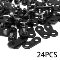 24X3/8 Chainsaw Chain Repair Kits For 3/8-LP Type 91 Master Link Tie Straps H81