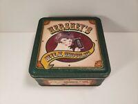 Hershey's Milk Chocolate Metal Tin Box Collectible Vintage Edition #5 1999 Empty