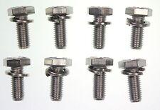 CLASSIC Mini sedile anteriore staffa Bulloni Set tutti INOX 1275GT COOPER CLUBMAN BL