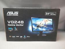 """ASUS VG248 24"""" 1920x1080 Full HD Flat Panel Computer Gaming Monitor - New"""