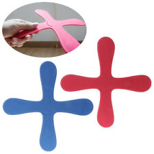 Cross Shape Boomerang Flying Toys Outdoor Park Saucer Funny Game Children Sports