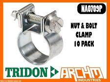 TRIDON NA0709P - NUT & BOLT HOSE CLAMP 10 PACK 7MM-9MM NA SERIES