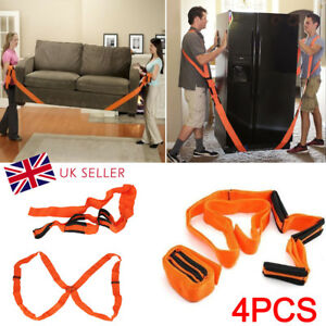 Heavy Furniture Appliances Lifting Shoulder Strap Moving Lift Aid Tool Dolly Kit