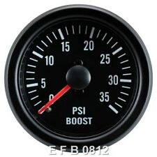Cara Negra 52 mm 35 Psi Turbo Diesel Boost Gauge – sistema mecánico-TDI-TD-DT