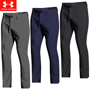 UNDER ARMOUR EU TECH MENS ATHLETIC FIT GOLF TROUSERS / ALL COLOURS @ 40% OFF RRP