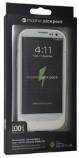 NEW 100% Authentic Mophie Juice Pack For Samsung Galaxy S3 Retail Package -White