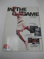 Ea Sports 1995 1996 95 96 In The Game Promo Brochure Sport