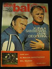 DON BALON 161 COPA EUROPA REAL MADRID-RECOPA BARCELONA-UEFA VALENCIA-LIVERPOOL