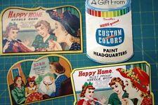 4 Needle Card Needles Advertising Sewing .