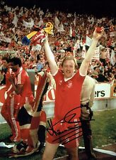 Kenny BURNS SIGNED Autograph 16x12 Photo 1 AFTAL COA Nottingham Forest Euro Cup